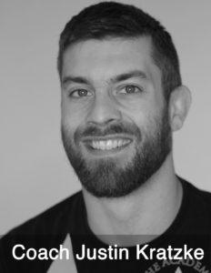 Coach Justin Kratzke